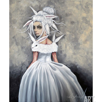 Off to the Ball Art Print by Angelina Wrona at Art.com