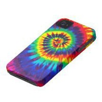 Colorful Tie-Dye iPhone 4 Casemate