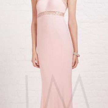 Iridescent jeweled prom dresses by LM Collection