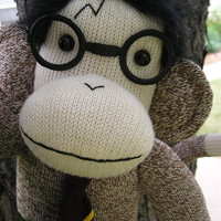 Harry Potter Sock Monkey Doll by sockmonkeyangel on Etsy