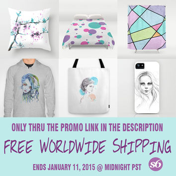 Free Shipping Promo Link! by eDrawings38 | Society6