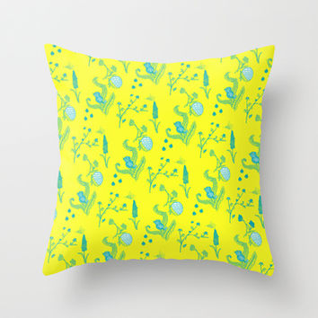 Design Based in Reality Throw Pillow by Ben Geiger