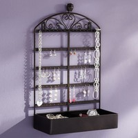 Iron Owl Jewelry Storage