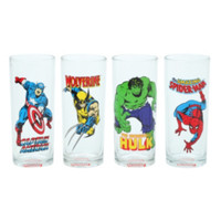 Marvel Comics 10 Oz. Glasses Set