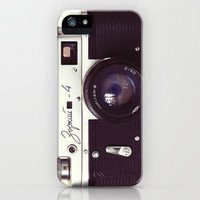 iPhone 5 Case, iPhone 5, vintage camera, zorki rangefinder, case for iPhone 5, camera geek, bomobob, camera collector, iPhone accessory