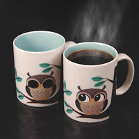 RISE &amp;amp; SHINE HEAT SENSITIVE MUG