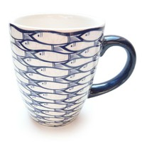 Jersey Pottery Sardine Run Mug - Set of 2