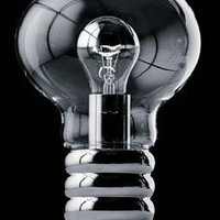 Ingo Maurer Bulb Table Lamp by Ingo Maurer