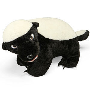 Honey Badger Talking Plush