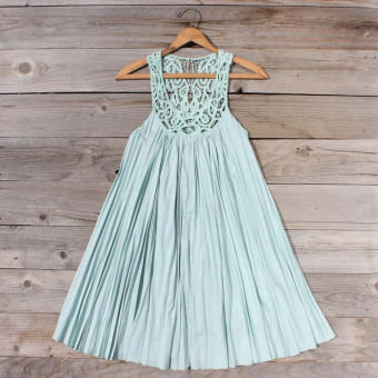 Mint Fields Dress, Sweet Women's Country Clothing