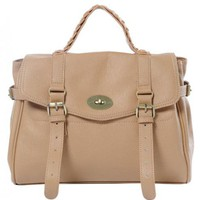 Khaki Vintage Backpacks Bag$45.00