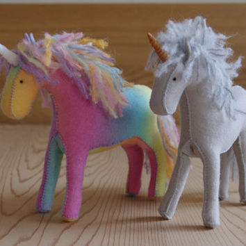 Felt Unicorn/Horse Pattern