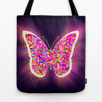 Flying Colours Tote Bag by Hogan