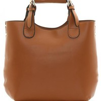 Brown Vintage Satchels Bag$49.00