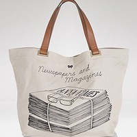 Anya Hindmarch Newspaper And Magazines Tote - Handbags - Bloomingdales.com