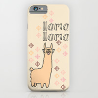 llama llama iPhone & iPod Case by Studio VII