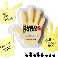 Handy Notes - Hand Shaped Sticky Notes