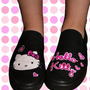 Hello Kitty Vans-By StabbyVon Killerstein