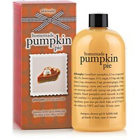 homemade pumpkin pie | shampoo, shower gel & bubble bath | philosophy