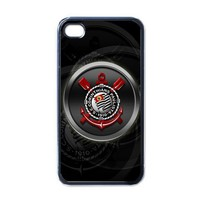 iPhone Case - Football Club Corinthians Logo - iPhone 4 Case Cover