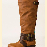 Racer Boot in Brown