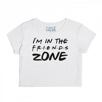 I'm In The Friends Zone-Unisex Snow T-Shirt