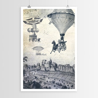 Paula Belle Flores's Carrilloons over the City POSTER