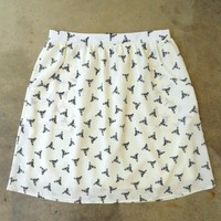 Feminine Punk Safety Pin Skirt [2260] - $27.00 : Vintage Inspired Clothing &amp; Affordable Fall Frocks, deloom | Modern. Vintage. Crafted.