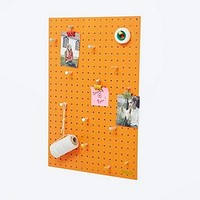 Block Medium Peg Board in Orange - Urban Outfitters