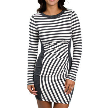Tart Collections Billie Dress in Charcoal