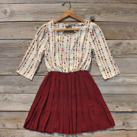 Falling Arrows Dress, Sweet Women's Bohemian Clothing