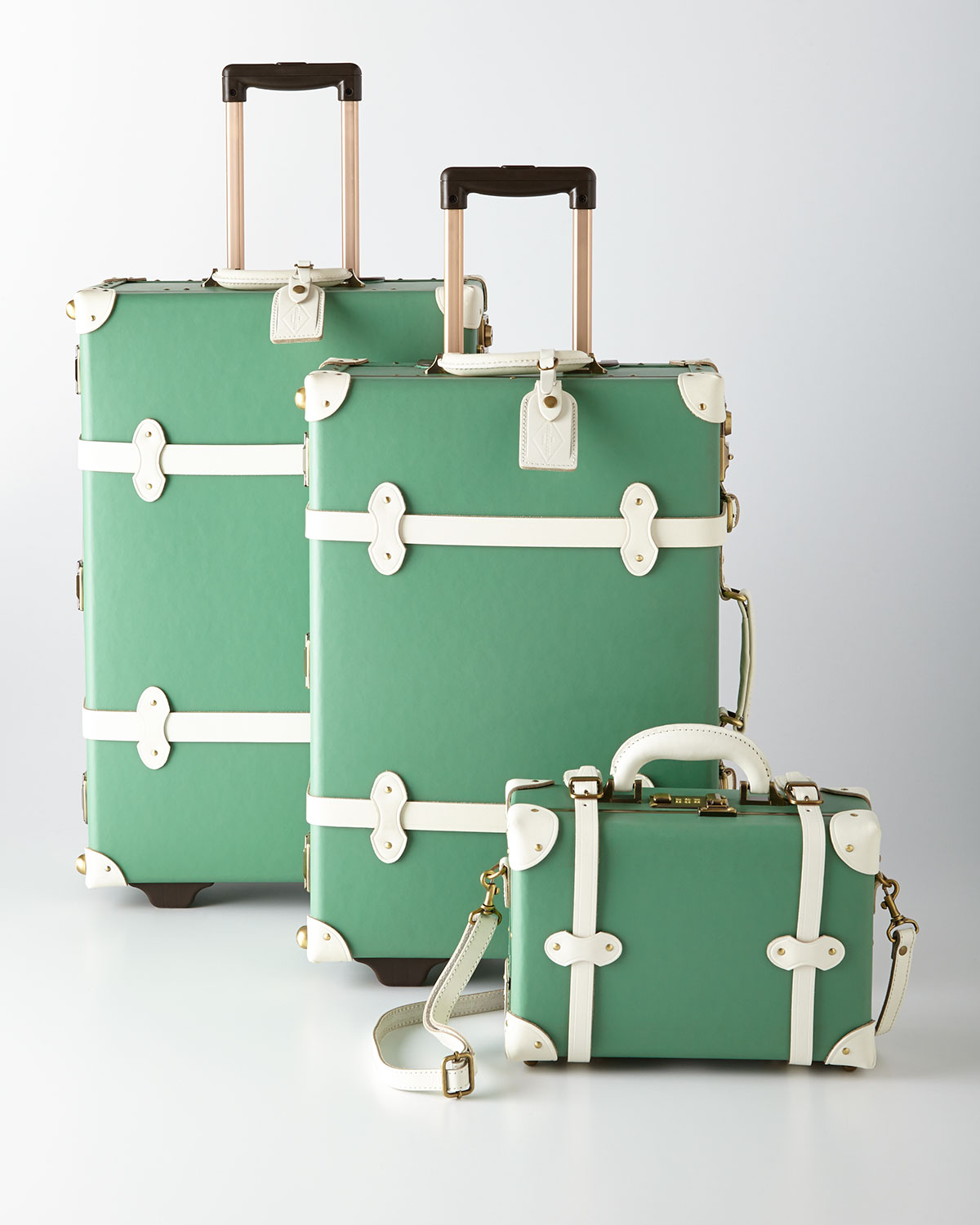 Mint Correspondent Luggage From Horchow Misc