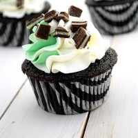 Chocolate Mint Cupcakes | Cake and Allie