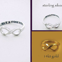NOW & FOREVER Infinity Ring exclusively by donnaodesigns