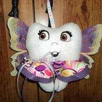 Cute Purple Tooth Fairy Pillow- Girls