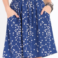 Sparrow Sighting Pocket Skirt - $32.00 : ThreadSence.com, Your Spot For Indie Clothing  Indie Urban Culture