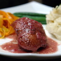 Duck with raspberry sauce recipe | Laylita's recipes