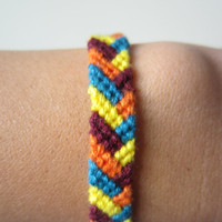 Braided Friendship Bracelet - Summer Fun