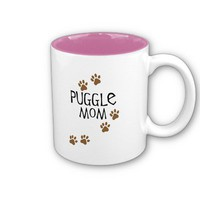 Puggle Mom Coffee Mug from Zazzle.com