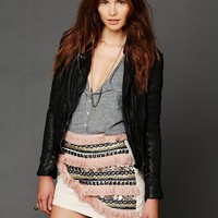 Free People Supercell Embellished Mini Skirt