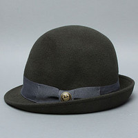 The Lady Gertrude Cloche in Olive  by Goorin Brothers | PLNDR.com