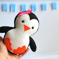 Baby Penguin Plush, Adorable Fleece.. on Luulla