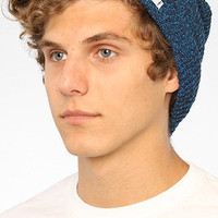 The Daily Heather Beanie in Black & Blue