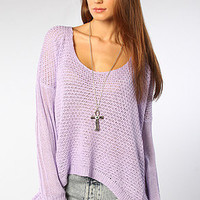 The Lynn Sweater in Lavender