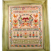 CROSS STITCH ALPHABET Sampler