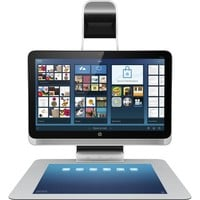 """HP - Sprout 23"""" Touch-Screen All-In-One - Intel Core i7 - 8GB Memory - 1TB Hard Drive - Black/Silver"""