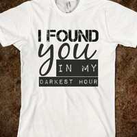 i found you - The Wanted Tee Shop