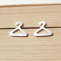Sterling Silver Hanger Ear Studs Fr.. on Luulla
