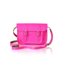 The Fluro Pink Cambridge Satchel