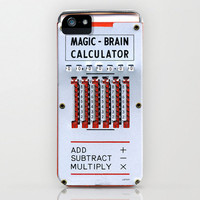 iPhone 5, iPhone 5 Case, magic brain, case for iPhone 5, calculator, bomobob, iPhone accessory